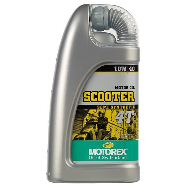 Motorex scooter 4t 10 40 1 lt oil motorex 7300082 for Peak synthetic motor oil review